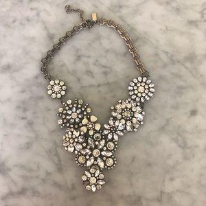 Baublebar Crystal Floral Necklace
